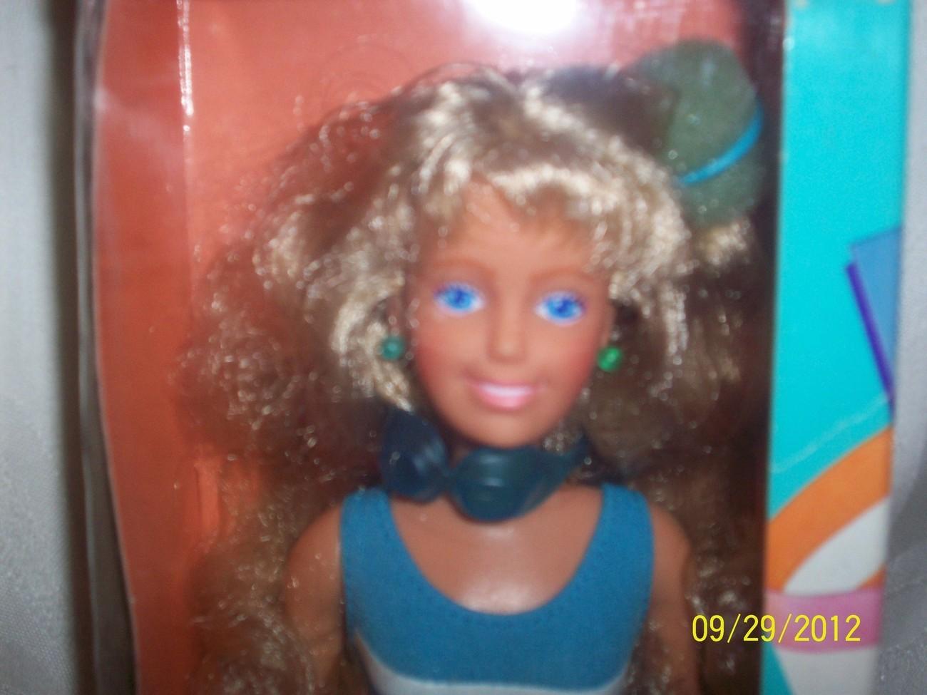 MIB Vintage 1980's Mod Hasbro Maxie Doll New in Box NIB NRFB image 2