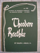 1963 Theodore Roethke - Pamphlets on American W... - $19.99