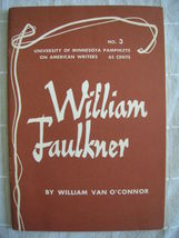 1963 William Faulkner - Pamphlets on American Writers #3 Lit Criticism - $19.99