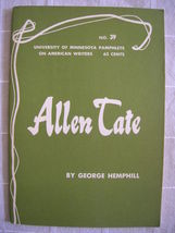 1964 Allen Tate - Pamphlets on American Writers #39 Lit Criticism - $19.99