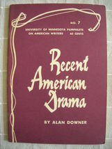 1964 Recent American Drama - Pamphlets on Ameri... - $19.99