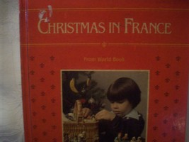 Rare Vintage Book Christmas in France HB HC Book Lots of Pictures and History! image 2