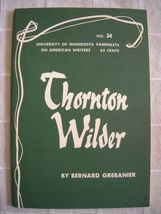 1964 Thornton Wilder - Pamphlets on American Wr... - $19.99