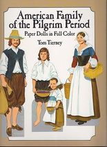 Uncut American Family of the Pilgrim Period Pap... - $7.95