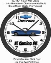 1970 Chevrolet El Camino SS Wall Clock-Free USA Ship - $30.68+