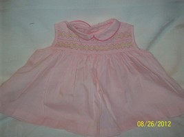 Vintage Pale Pink Baby Doll 1950's/ 60's Dress Clothing for Dolls  image 1