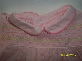 Vintage Pale Pink Baby Doll 1950's/ 60's Dress Clothing for Dolls  image 2