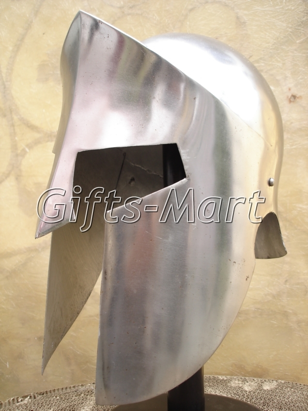 300 Spartan Helmet, Medieval Reenactment Collectible Greek Costume Armor Larp