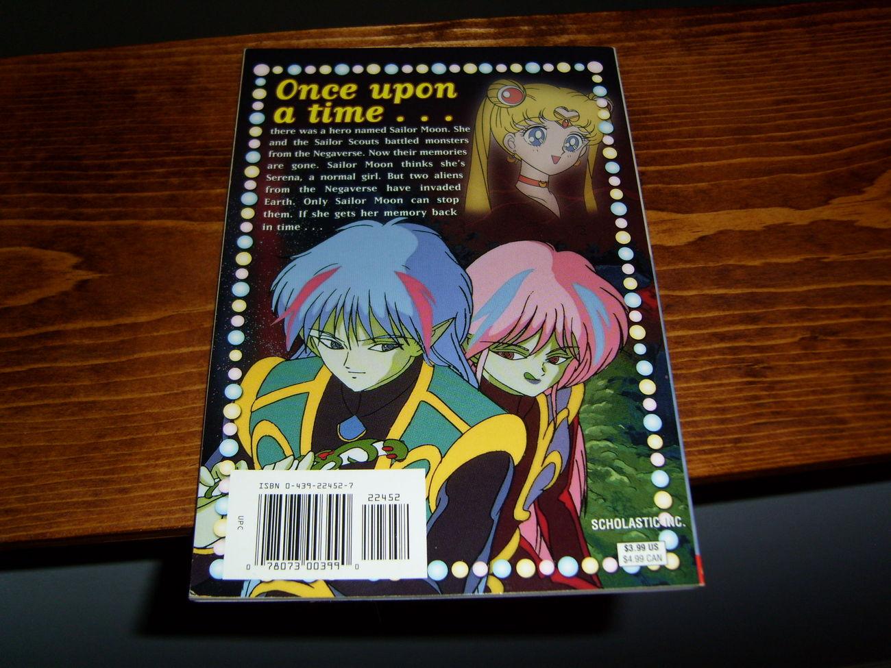 Sailor Moon scholastic book. The Return of Sailor Moon