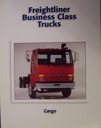 1998 Freightliner Cargo Business Class Cabover FC70, FC60 Trucks Color Brochure