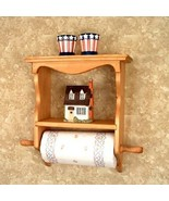 Paper Towel Holder Shelf  Country Classic  - $47.95