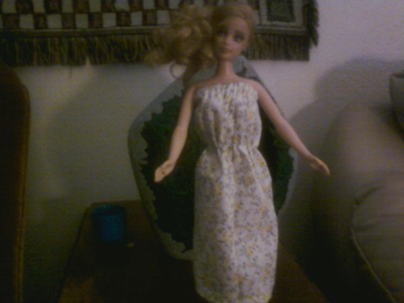 Country Picnic-OOAK Dress for Barbie