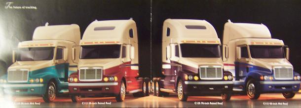 1995 Freightliner Century Class Road Tractors Color Brochure