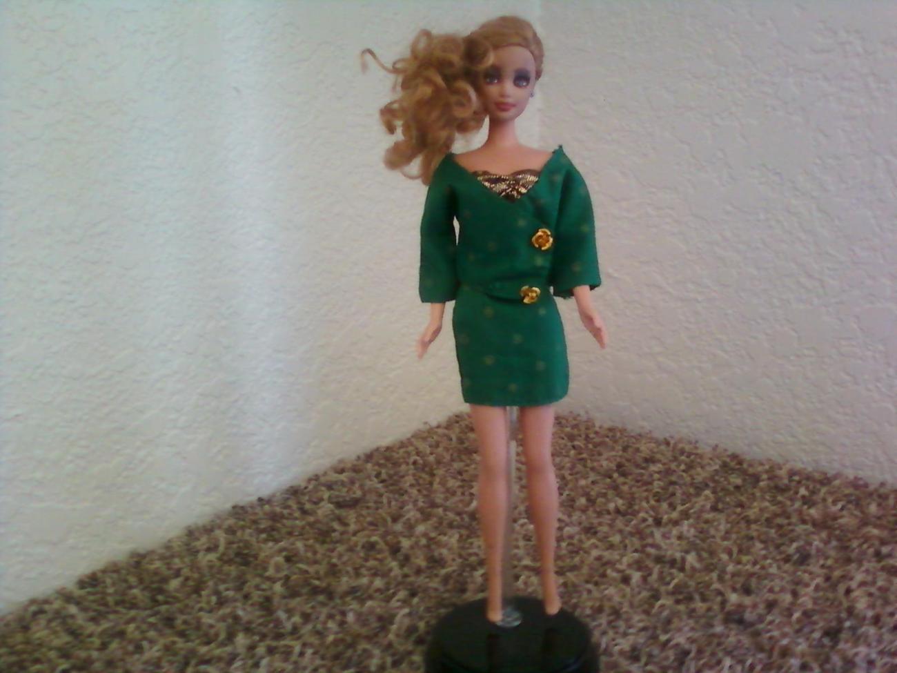 Golden Sensation-OOAK Barbie suit