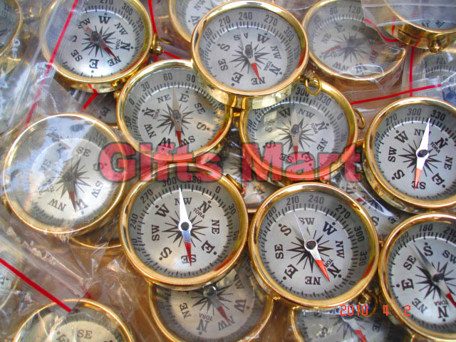 ANTIQUE POCKET COMPASS LOT OF 10 UNITS BRASS NAUTICAL COMPASS COLLECTIBLE Gift