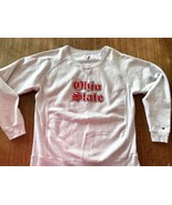 Champion Reverse Weave Ohio State Crew Sweatshirt Mens Large OSU Sewn - $28.49