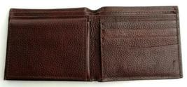 Nautica Men's Premium Leather Credit Card Id Passcase Wallet Billfold 31Nu22X030 image 6