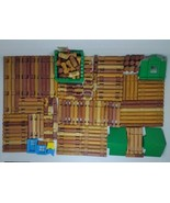 Lincoln Logs Lot Of 210 Pieces - $79.19
