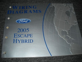 2005 Ford Escape Mercury Mariner Hybrid Models Electrical Wiring Diagram Manual - $39.59
