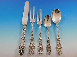 Irian by Wallace Sterling Silver Flatware Set for 8 Service Dinner Size 47 Pcs - $5,650.00