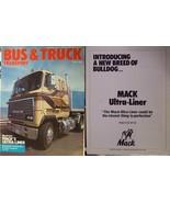 1983 Mack Ultra-Liner Cabover EQT, B61 Brochures - Lot of 5! - $10.00