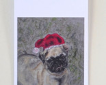 Santa s little pugster gift tags thumb155 crop