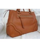 Michael Kors Large Ashbury Leather Satchel Brown $370 - $154.99