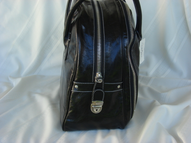 Cynthia Rowley Black Leather Ginny