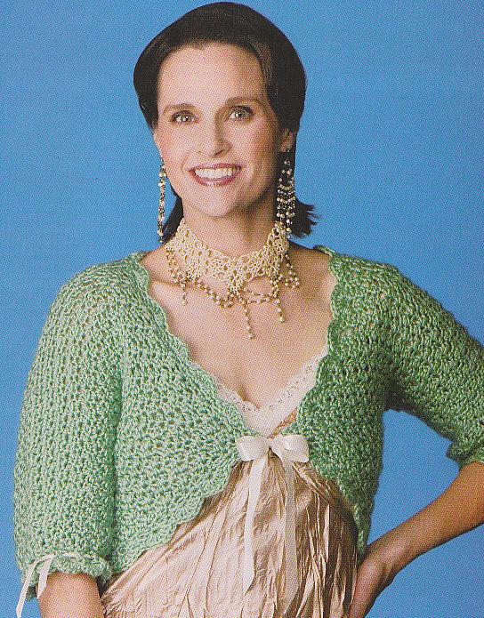 *Crochet Annie's Attic 13 SHRUGS Bolero SUMMER SHAWL