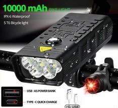 Bike USB Rechargeable 3000 Lumens Headlight LED Super Bright Flashlight ... - $63.21+