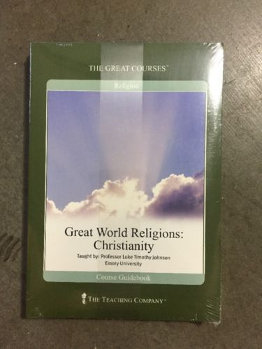 Great World Religions : Christianity (2003, Hardcover / DVD)