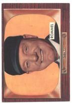 1955 Bowman #239 Edwin Rommel UMP VG/EX Very Good/Excellent  - $16.00