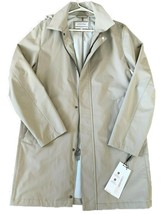 $185.Calvin Klein Extreme Slim Fit Hooded Trench Coat, Khaki,  Size XL - $79.19