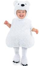 Underwraps Orso Polare Ventre Zoo Animali Bambini Costume Halloween 25808 - $28.30+