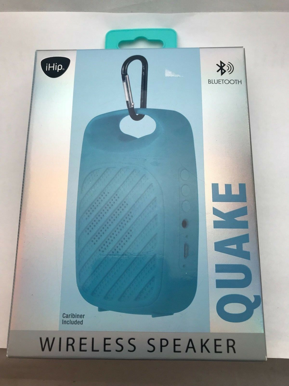 NEW iHip Quake Wireless Speaker - Blue