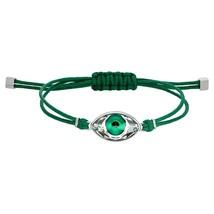 Authentic Swarovski Power Collection Green Evil Eye Bracelet - $55.17