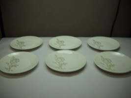 ROSENTHAL China SET OF 6 Salad Plates Design by Raymond LOEWY CLASSIC ROSE - $39.59