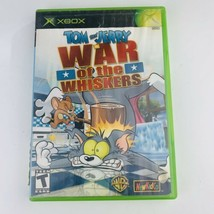 Tom & Jerry War of the Whiskers Microsoft Xbox, 2003) Complete w/ Manual Tested - $22.76