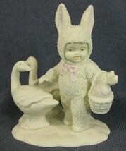 Snowbunnies Goosey Goosey & Gander 26174 Department 56 Figurine No Box N... - $14.95
