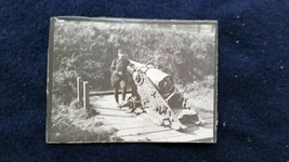 World War I French Soldier Artillery Canon in France 1916!  - $11.30