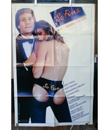 """So Fine with Ryan O'neal  Original Movie Poster one sheet 40"""" x 27"""" - $29.14"""