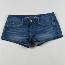 AMERICAN EAGLE denim jean shorts Size 6 - $10.95