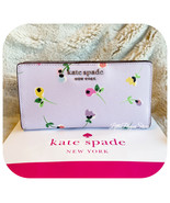 KATE SPADE CAMERON WILDFLOWER DITSY LARGE SLIM BIFOLD WALLET IN MULTI - $58.29
