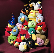 Angry Birds Movie Characters Stuffed Plush Toys Lot/26 (w/wo/Sound) - $163.35