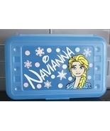 Personalized Girls Pencil box, Back to school supplies, Elsa Pencil box  - $16.00