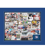 New York Giants 2008 Super Bowl Newspaper Collage Print Art- 25 Publicat... - $19.99