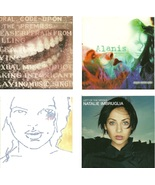 Lot of 4 CDs Alanis Morissette Alana Davis Natalie Imbruglia - No Cases - $2.99