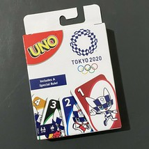 Mattel Uno Card Game Tokyo 2020 Olympics Special Rule Limited Edition Kawaii  - $23.36