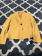Le Suit St. Germain Gold Womens Jacket Size 4 - $48.24