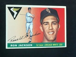 1955 Topps Baseball Card #66 RON JACKSON - Chicago White Sox (A) - $5.89